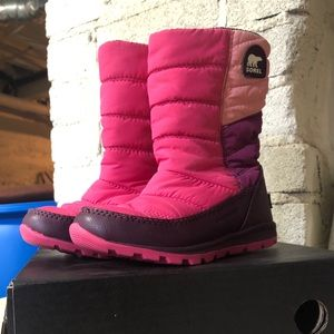 Girls Sorel Whitney mid waterproof winter boots